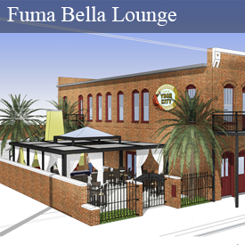 Tampa Sweethearts Fuma Bella Lounge